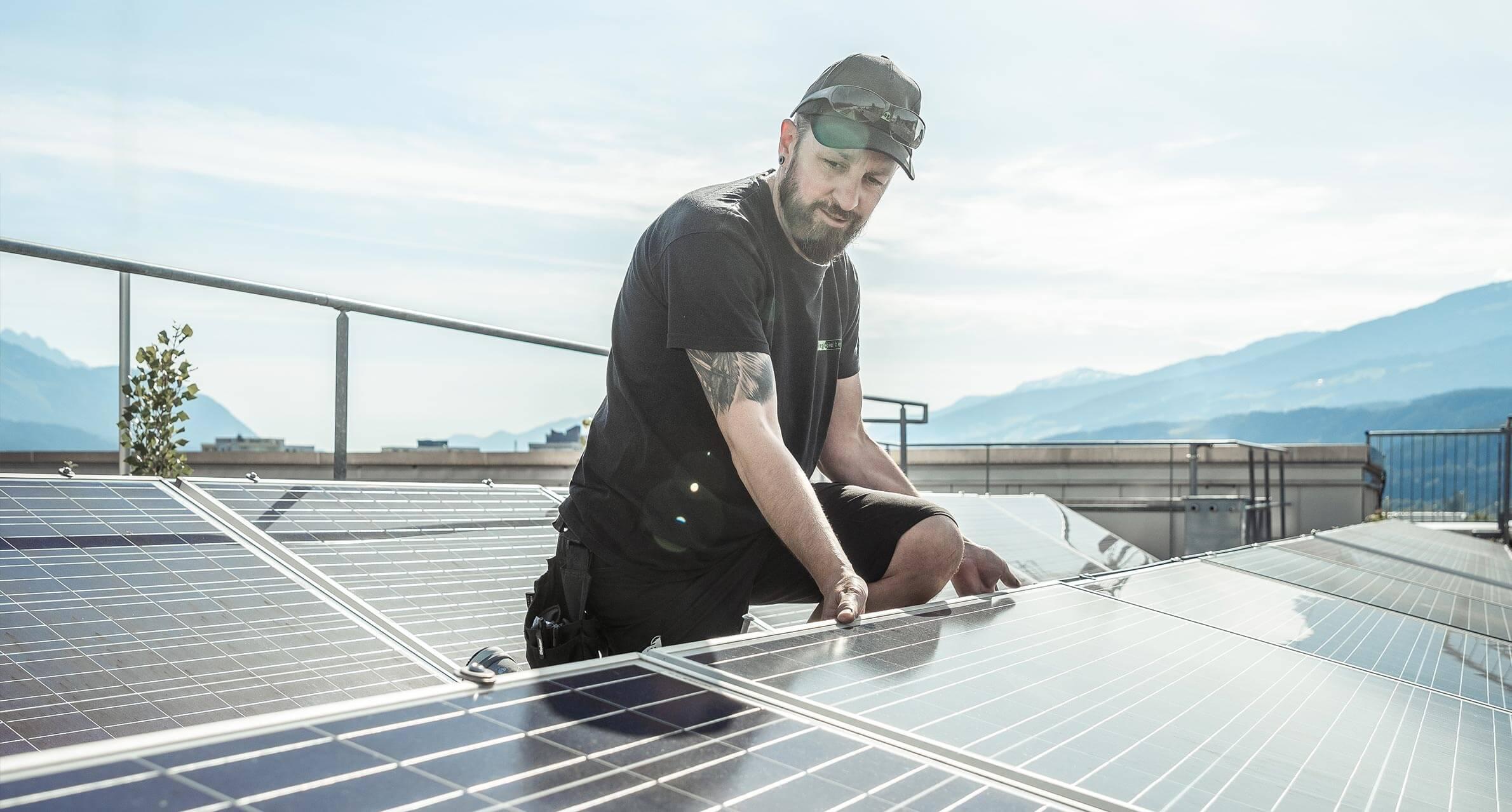 Photovoltaik Techniker