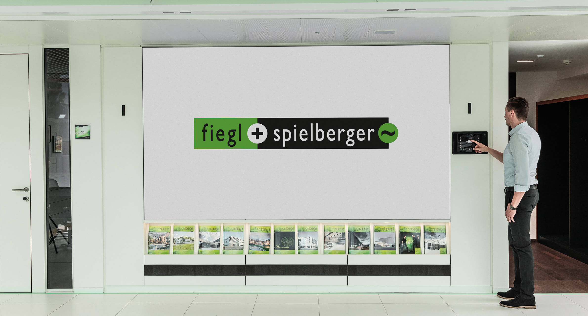 Fiegl+Spielberger Video Wall